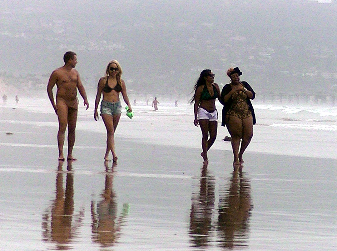 naked dude in front of friends