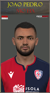 PES 2017 Faces Joao Pedro by Mo Ha