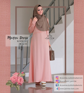 Gamis Jasmine Mayra Dress 43