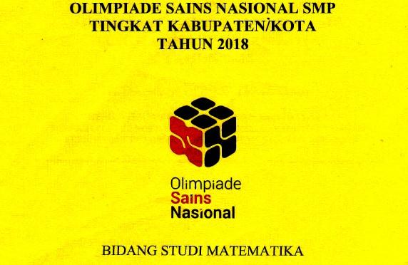 OSK SMP 2018 Matematika