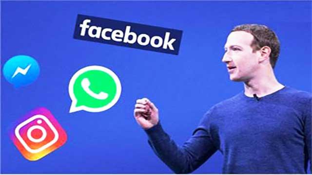 إنقطاع فيسبوك وواتساب وانستغرام كلف زوكربيرج 7 مليارات دولار خسائر