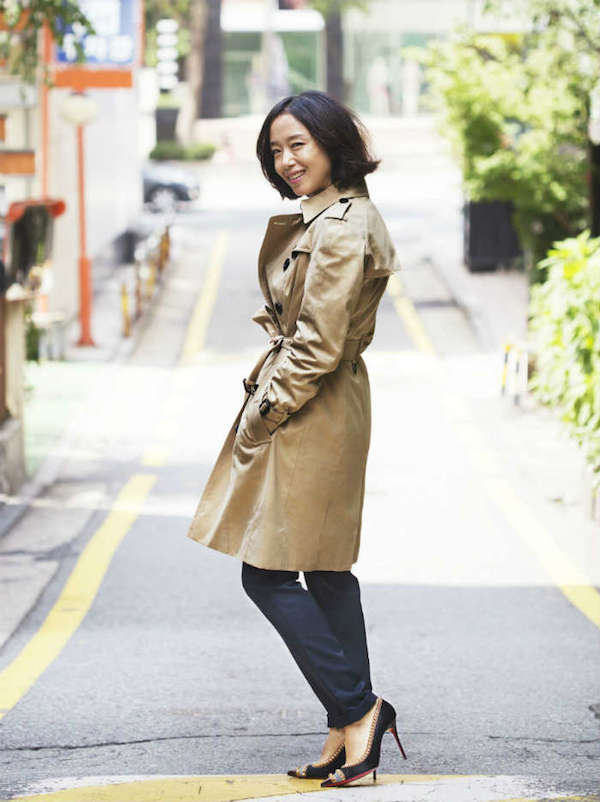 Jeon Do Yeon Burberry Art Of The Trench