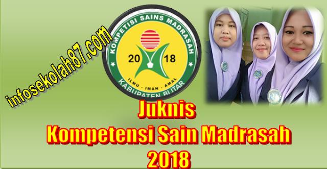 Juknis Kompetensi Sains Madrasah (KSM) 2018
