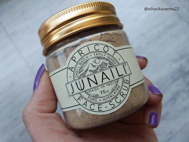 The Pink Velvet Blog - Junaili Himalayan Apothecary Apricot Face Scrub
