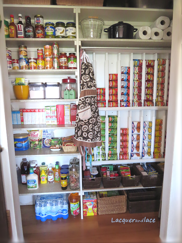 Lacquerandlace Rotating Canned Food System Diy