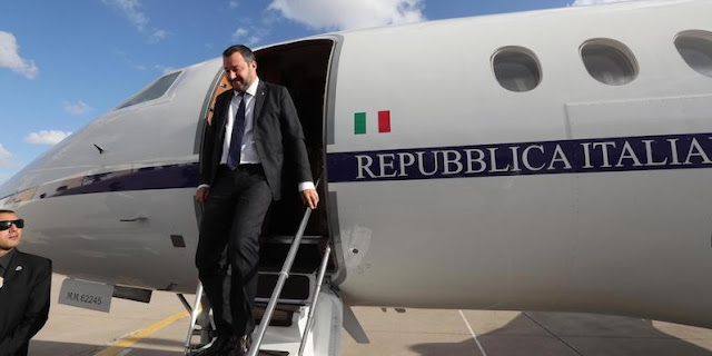 Matteo Salvini is under investigation by the Rome prosecutor's office