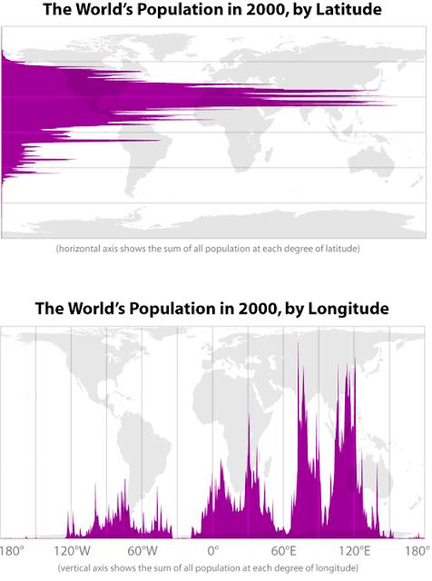 Rozmieszczenie ludności na świecie