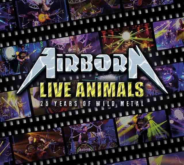 """Ο δίσκος των Airborn """"Live Animals"""""""