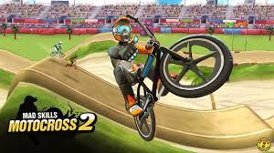لعبة Mad Skills Motocross 2 مهكرة