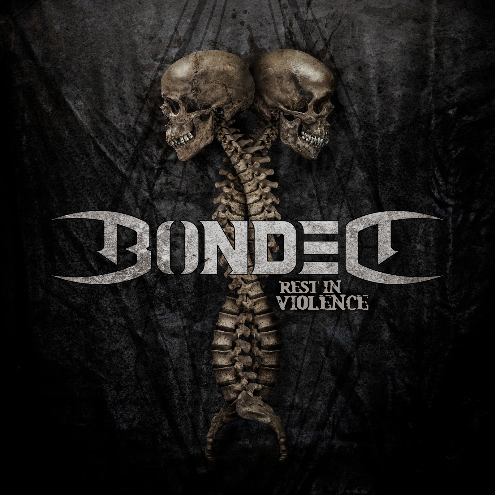 Bonded Rest In Violence art cover