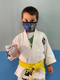 Álex fue el ganador de la taza de Bushi Ryu que sorteamos en esta actividad.