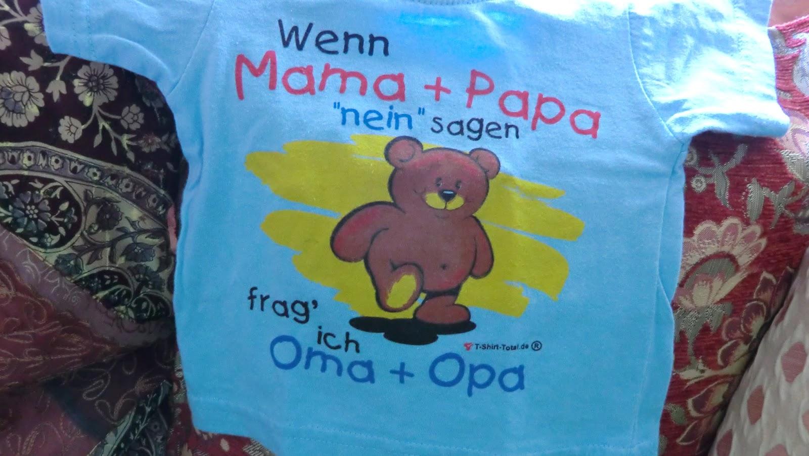 Fasten Seat Belts Baby Bär 29 Oma Heute Kommt Uns Die Mama