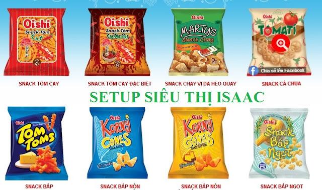 Phân phối bim bim Poca, Oishi, Orion loại Snack nào bán tốt nhất