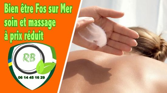 Bien être Fos sur Mer : soin et massage à prix réduit;