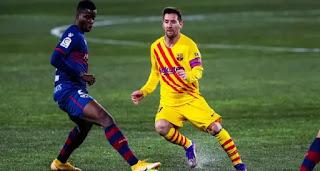 Barcelona captain Leo Messi hits 300 career assists