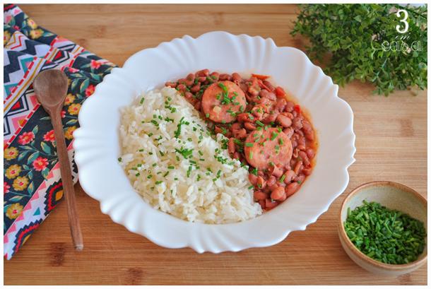 como fazer red beans and rice