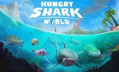 dan mereka membawa kehancuran yang lebih besar dari game Hungry Shark Evolution sebelumny Download Hungry Shark World Mod Apk Terbaru v. 3.5.0