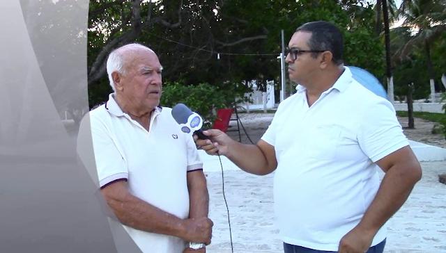 HUMBERTO DOS ANJOS, EX-PREFEITO DE OLHO D'ÁGUA DAS FLORES/AL, CONCEDE ENTREVISTA PARA O BLOG DO POETA