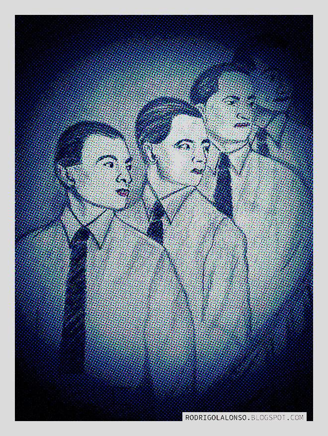 Kraftwerk, ilustración de Rodrigo L. Alonso