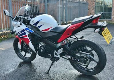 Honda CBR 125 for sale on Ebay UK 2020
