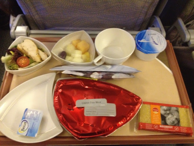 gluten free Meal economy class Emirates