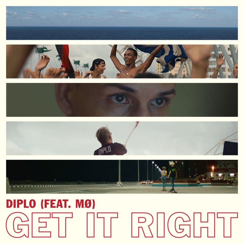 歌詞和訳 diplo get it right feat mØ
