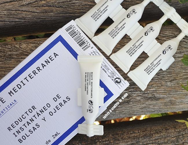 Reductor instantáneo de bolsas y ojeras (Mercadona) de Beauté Mediterranea