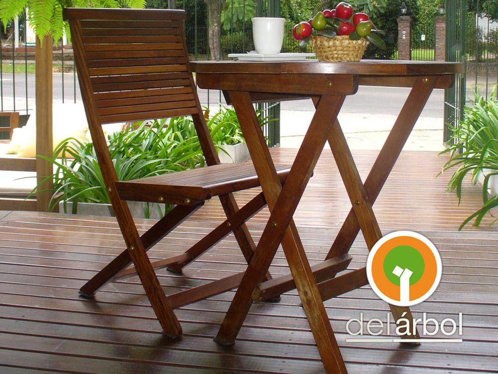 Del-Arbol | Fábrica de Muebles de Madera: Mesa Bar Plegable de ...