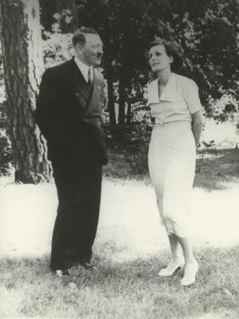 Adolf Hitler and Leni Riefstahl worldwartwo.filminspector.com