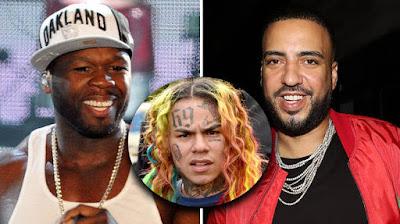 'Like Father Like Son', French Montana Compares 50 Cent To Tekashi 6ix9ine.