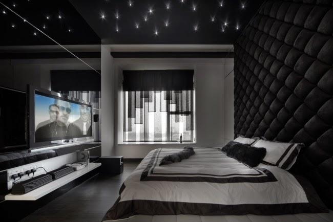 dormitorio techo elegante