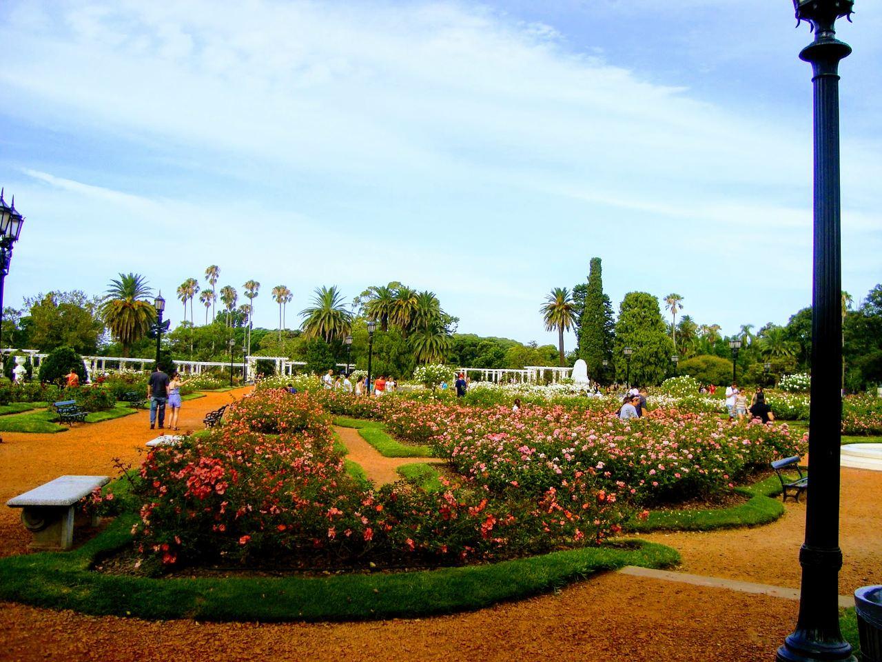 Um passeio pelos jardins de Buenos Aires