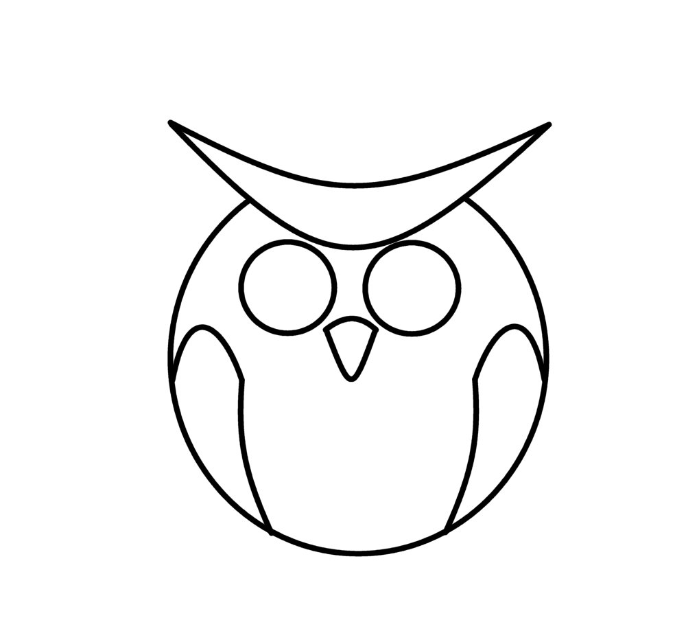 How To Draw Cat Owl