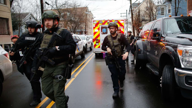 Jersey City Shooting Live Updates: 6 Killed, Including an Officer