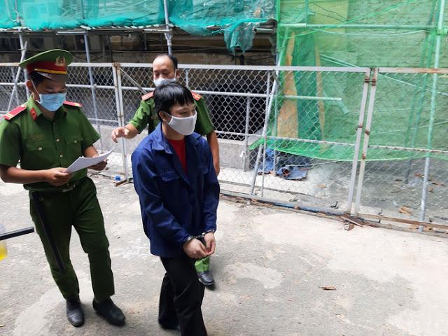 """Bị cáo Châu Minh Cường lãnh 14 năm tù về tội """"Hiếp dâm người dưới 16 tuổi""""."""