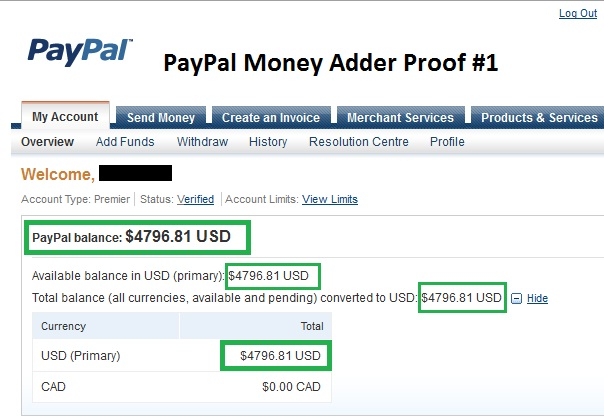 Activation Key Paypal Money Adder Moideleanal S Ownd