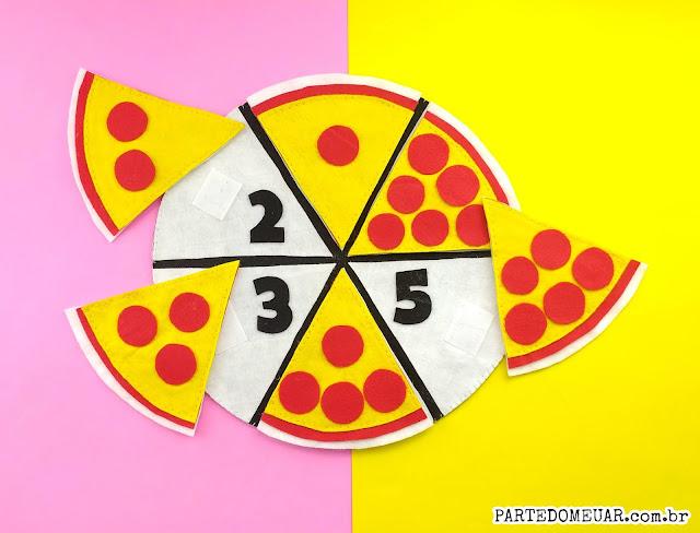 pizza fração