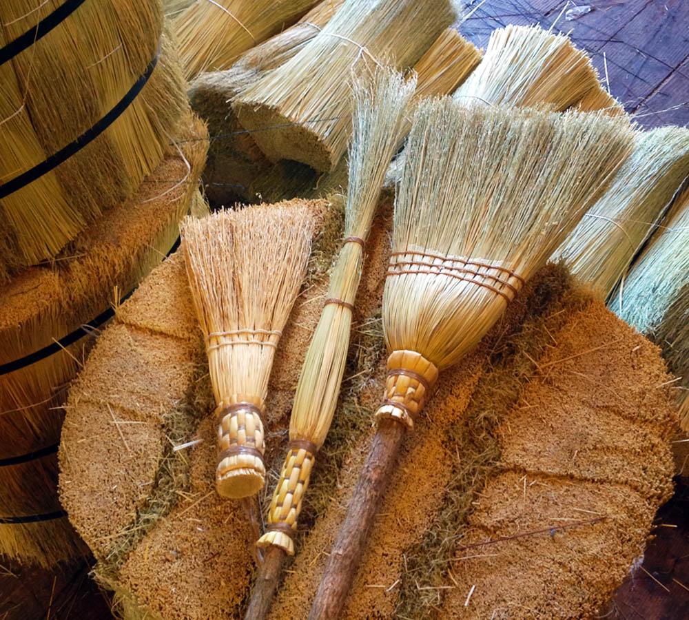 Making A Clean Sweep New Broom Sets Bundled Brooms At A