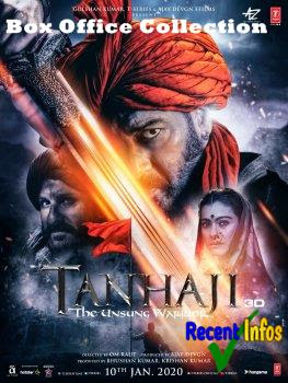 Tanhaji Bollywood Movie Box office collection