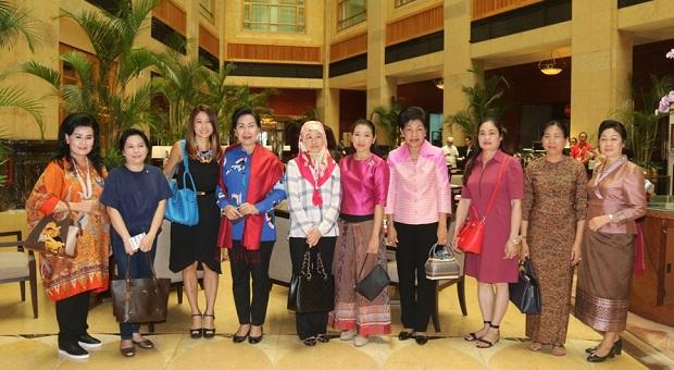 Ketum Dharma Pertiwi Ikuti Spouse Program ke-15 ACDFIM