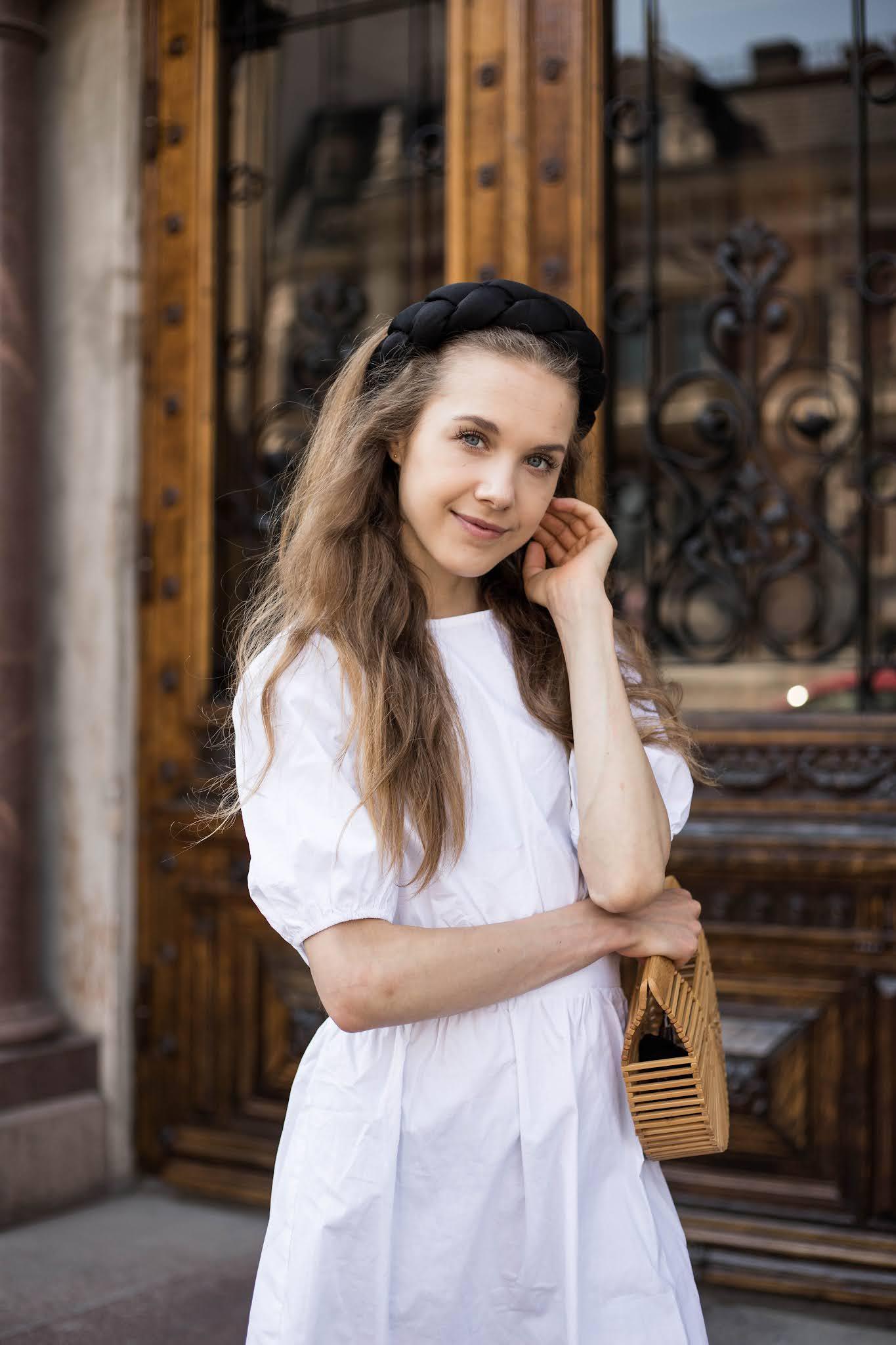 Valkoinen kesämekko // White summer dress