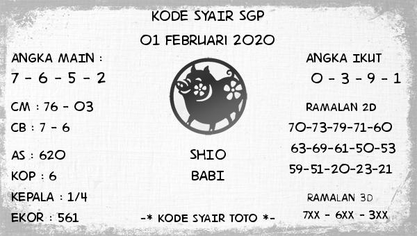 Kode Syair SGP