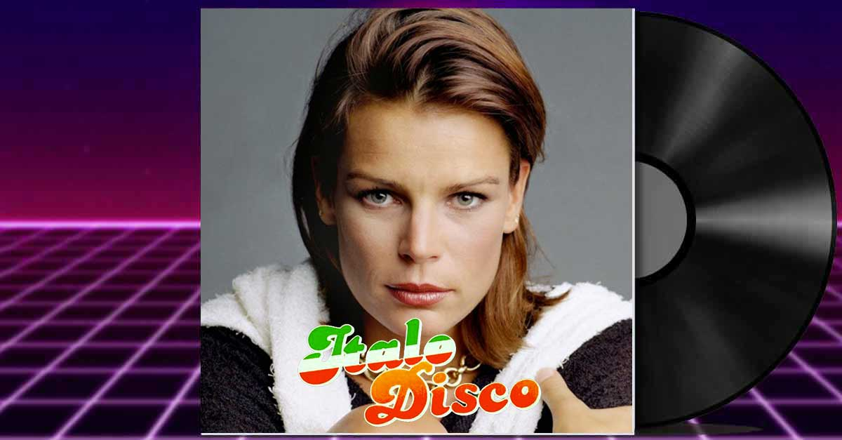 La principessa Stéphanie di Monaco nel mondo della musica Italo Disco anni 80