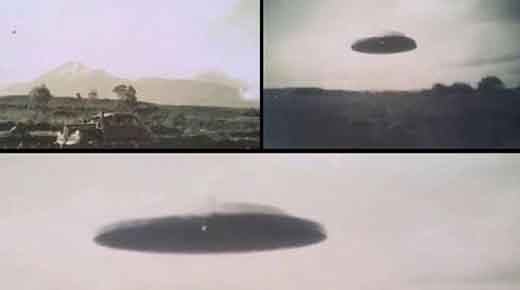Autenticas fotografías de 1958 revelan claros platillos voladores cerca del Volcán Colima en México