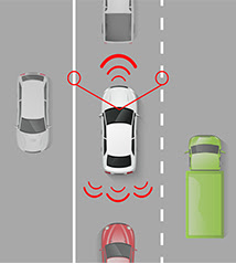 crash avoidance technology in cars