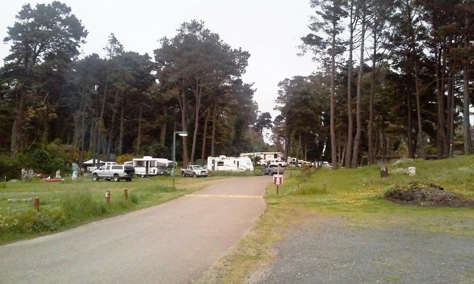 Hidden Pines RV Park Campground - Fort Bragg California