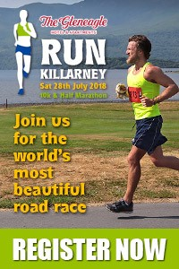 Run Killarney Half-Marathon & 10k... Sat 28th July 2018