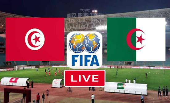 Match Tunisie vs Algerie live streaming