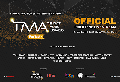 Korea's The Fact Music Awards goes to the Philippines
