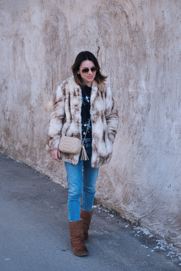 Faux-fur-coat-and-ugg-boots-